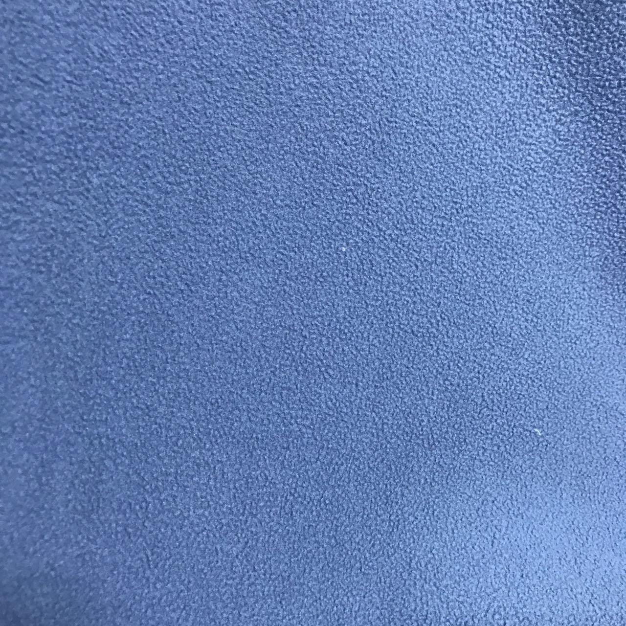 绍兴市展博针织品有限公司 双刷单摇摇粒绒 湖蓝色ZB-02